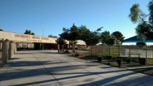 Weed control for Avondale Middle School